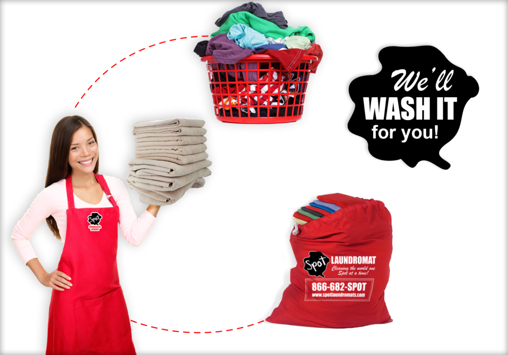 Residential Laundry Services. We'll wash it for you!