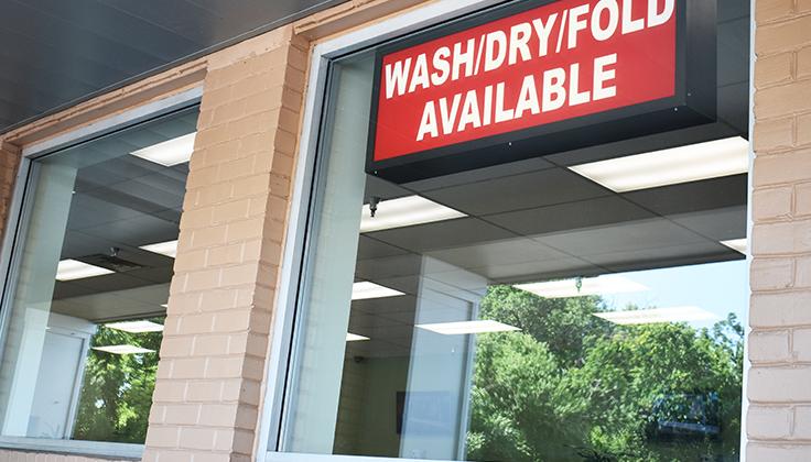 Hillcrest Laundromat Store Front