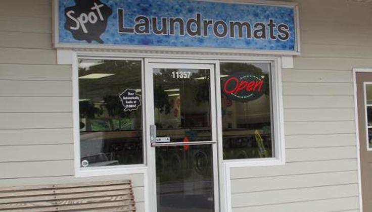 Spot Laundromat - Hagerstown - Robinwood Drive - Front Door