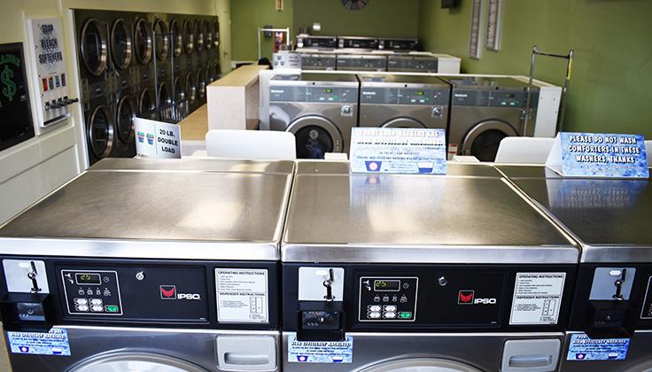East Street Laundromat Equipment