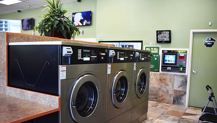 Hillcrest Laundromat Equipment