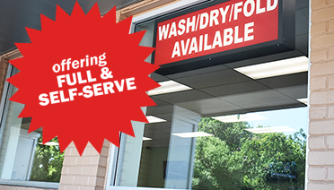 Hillcrest, Frederick, MD, laundromat, store front, dry cleaning, drop off, wash, dry, fold