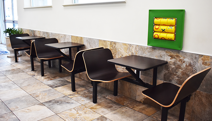 Hillcrest Laundromat Seating Area