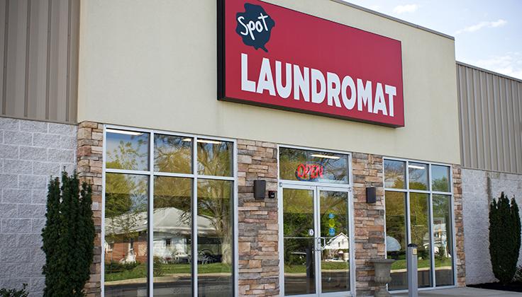 Spot Salem Avenue Laundromat Exterior View