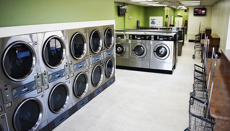 Willowtree Laundromat Equipment