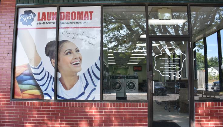 Wallower Laundromat Exterior View