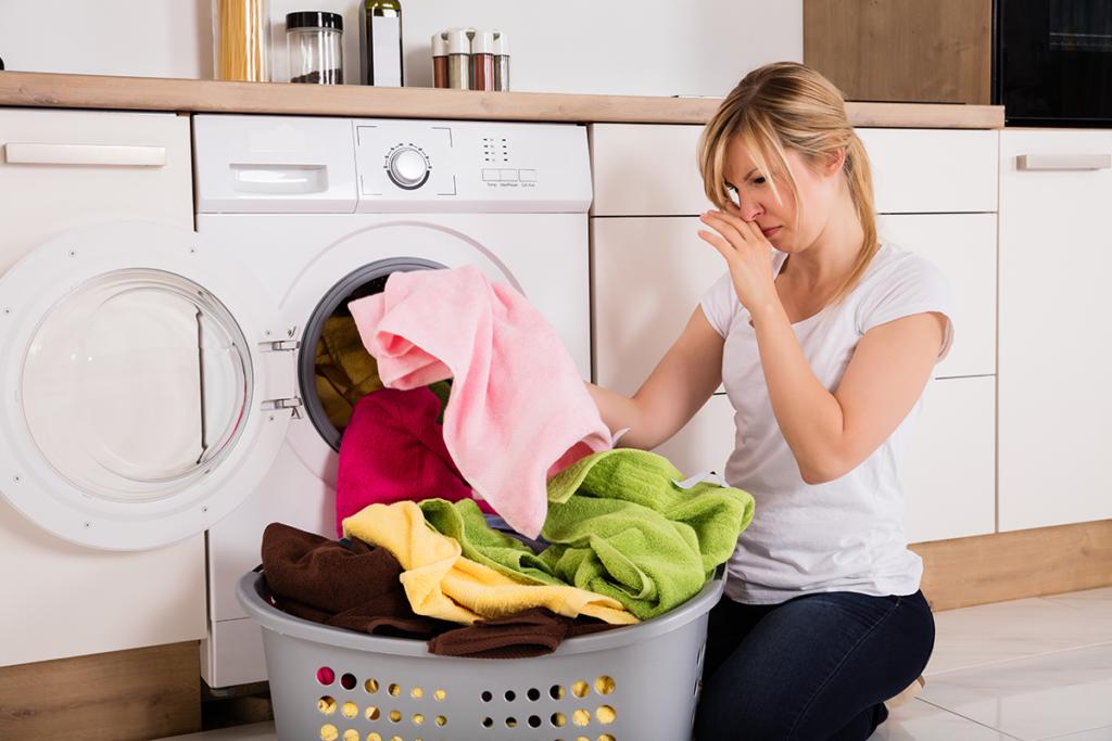 Clean Laundry Still Smells Bad
